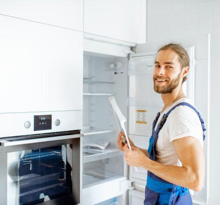 Installation Einbaukühlschrank