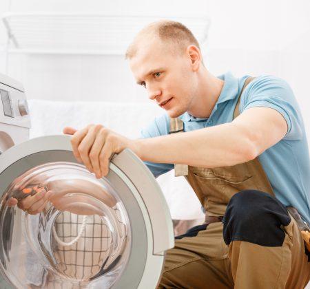 Anschluss der Waschmaschine