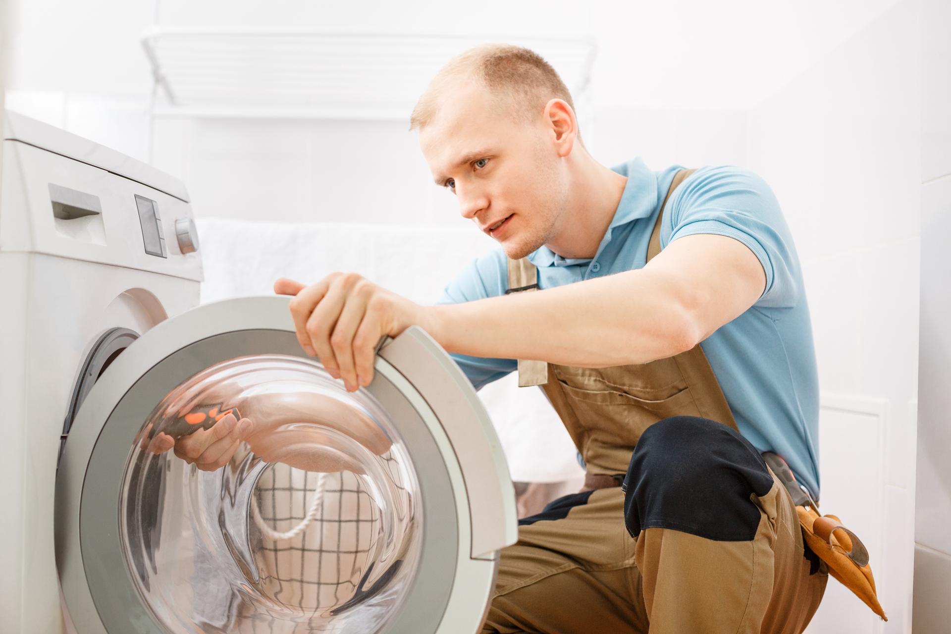waschmaschine einbauen